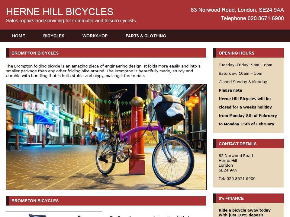 Herne Hill Bicycles