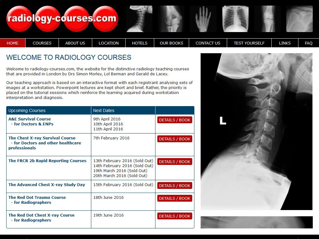 Radiology Courses