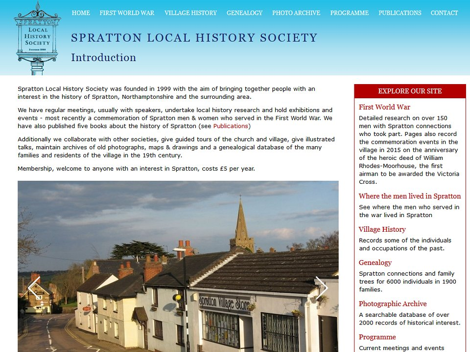 Spratton Local History Society