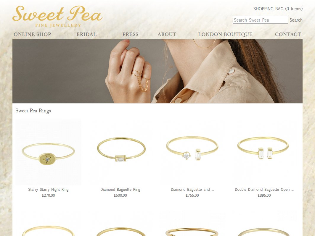 Sweetpea Jewellery