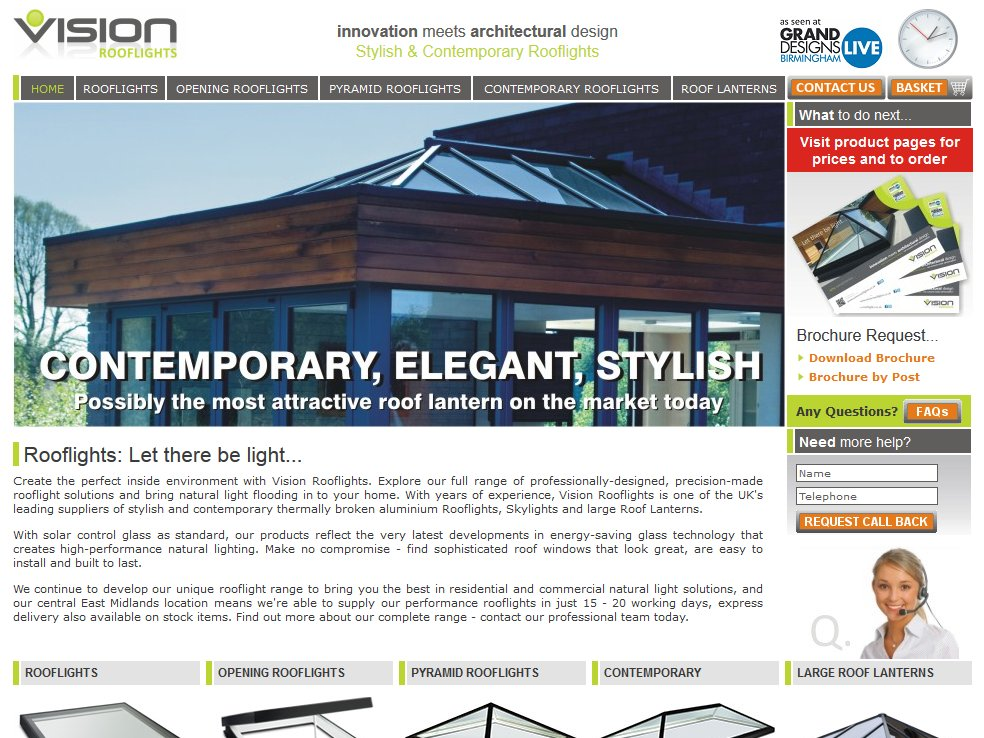 Vision Rooflights